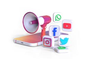 Social Media Video Pixelblue Animation