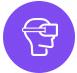 Virtual Representative Pixelblue Animation